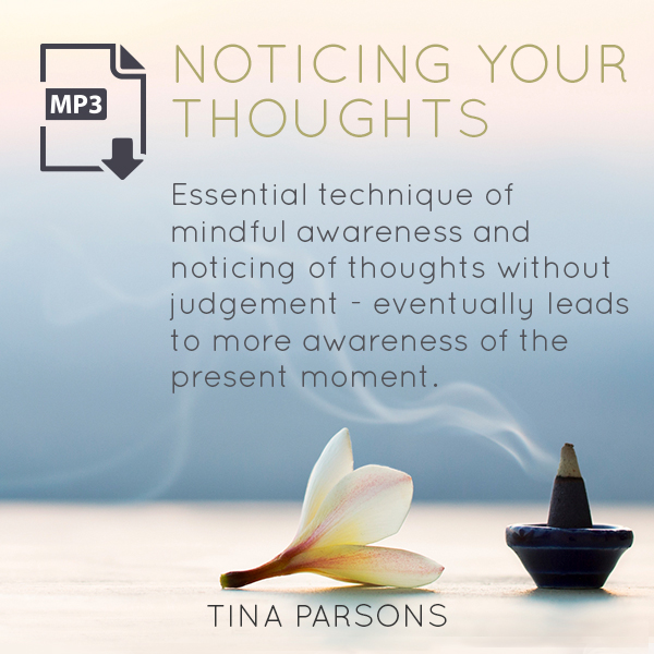 Noticing Your Thoughts